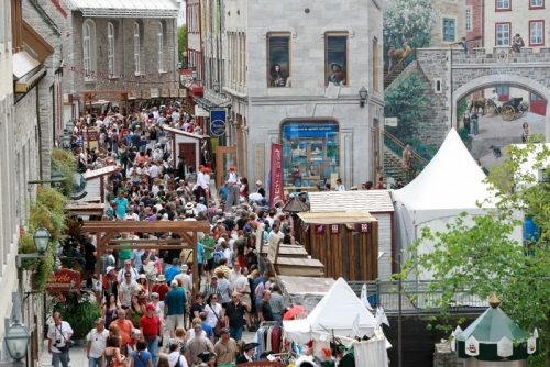 Forestville (QC) Canada  City pictures : New France Festival, in the region of Quebec