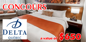 Autumn in Quebec's contest in collaboration with Hotel Delta Quebec in Quebec Region