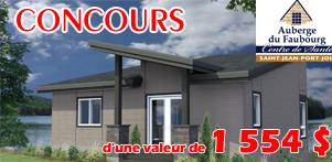 Concours du Québec en Printemps en collaboration avec l'Auberge du Faubourg dans la région de Chaudière-Appalaches