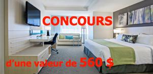 Concours du Québec en Été 2015 en collaboration avec l'Hôtel Delta Québec dans la région de Québec et Global Réservation