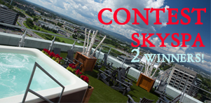 Winter in Quebec's contest in collaboration with Station SKYSPA in Quebec and Monteregie Region and Global Reservation