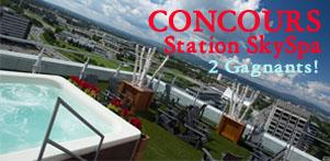 Concours du Québec en Hiver 2016-2017 en collaboration avec la Station SKYSPA dans la région de Québec et de la Montérégie ainsi que Global Réservation