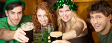 The St. Patrick Feast in Quebec