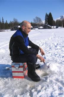 Vivez l\'expérience de la pêche sur la glace !