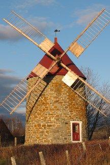 Moulins de l\'Isle-aux-Coudres - Économusée de la meunerie