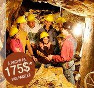 Forfait famille - Aventures minières