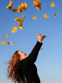 L\'automne est irrésistible avec ses explosions de couleurs!