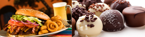 Suggestion of Restaurants and Chocolate shops to discover around Quebec region