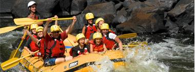Rafting Nouveau Monde